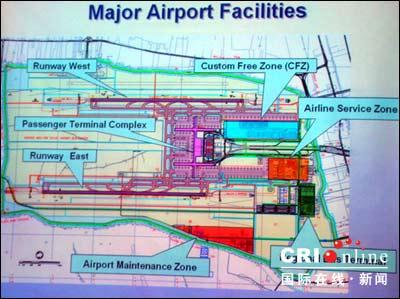 """泰国曼谷""""素旺那普机场""""即将正式运营(组图)"""