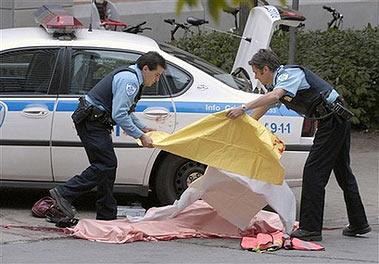 加拿大蒙特利尔发生校园枪击案4死16伤(组图)