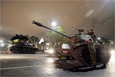 泰国副总理奇猜和国防部长被捕