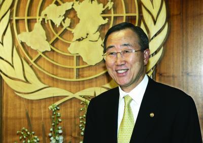"""联合国秘书长角逐""""最后冲刺"""""""