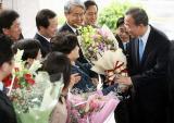 联合国秘书长当选人潘基文回国受元首礼遇