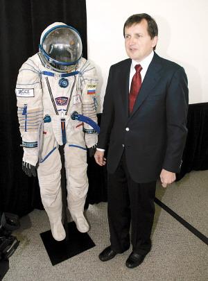 美籍匈牙利富翁将成为第五位太空游客