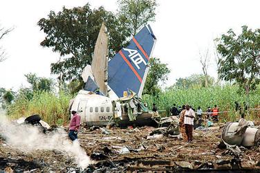 尼日利亚发生第三起空难事件救援已结束(组图)
