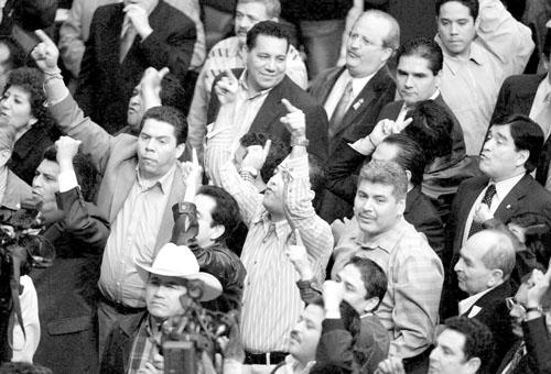 墨西哥总统混乱中宣誓就职