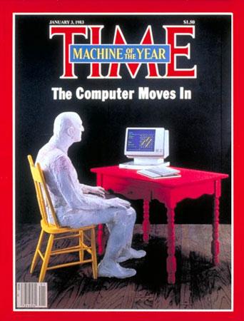 互联网使用者当选《时代》周刊年度人物(图)