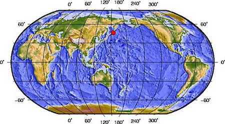 中国地震台网测定千岛群岛地震为7.9级(图)