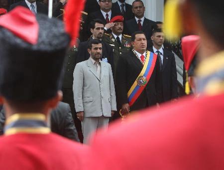 伊朗委内瑞拉拟建反美基金为友好国家提供资金