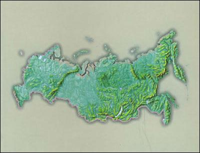 俄罗斯概况:1707.54万平方公里