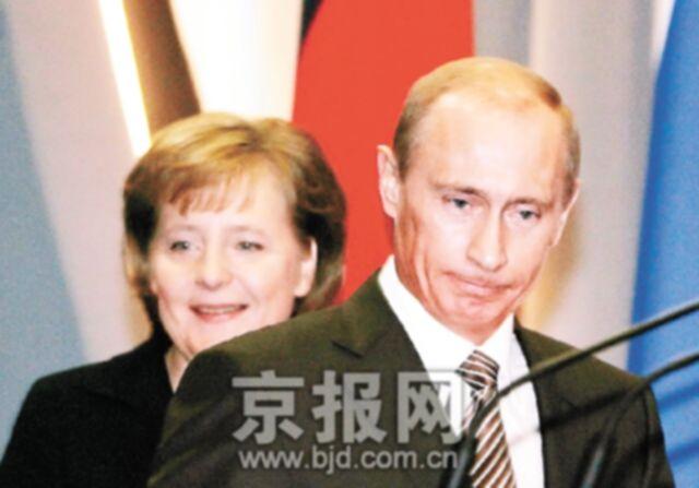 默克尔访俄寻求能源承诺图片 32867 640x447