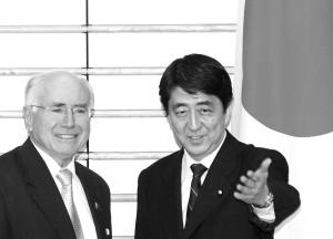 日澳强化军事合作竭力否认针对中国