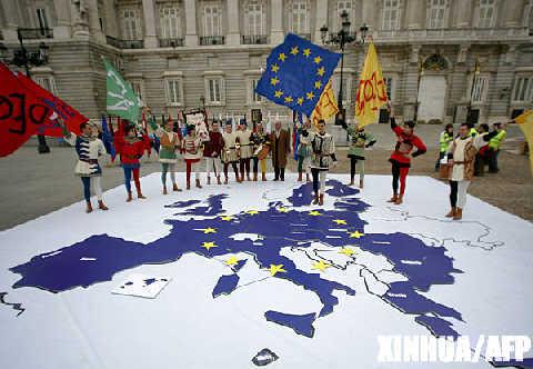 柏林宣言迈出挽救欧宪条约艰难步伐