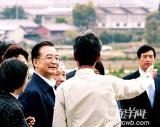 日本农民:温总理给人的感觉很温暖