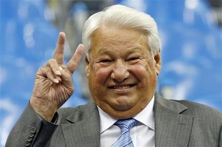 叶利钦每天练中国气功 感觉好极了