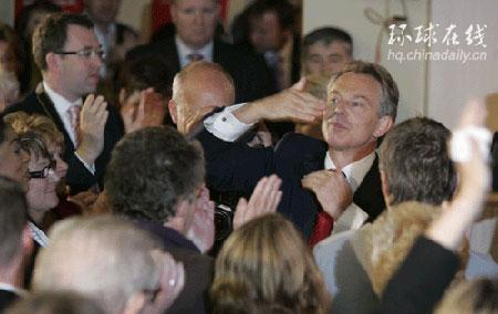 布莱尔宣布6月27日辞去英国首相职务(组图)