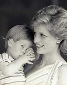 哈里王子暗示母亲之死另有隐情
