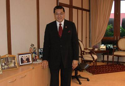 专访泰国副总理:全力竞选联合国秘书长(组图)