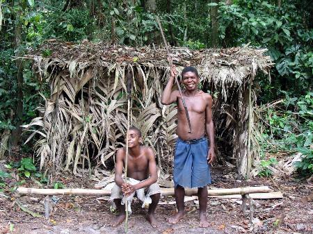 图文:非洲丛林的矮人部落(2)_新闻中心_新浪网