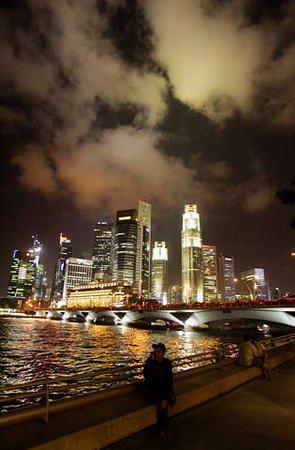 图文:新加坡的城市风景