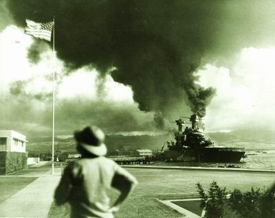 美国大兵喋血珍珠港身中两弹再救战友