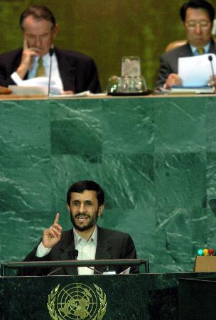 图文:伊朗总统就伊朗核问题提出建议