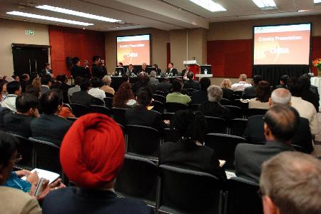 图文:第18届世界石油大会举行中国专场报告会(1)