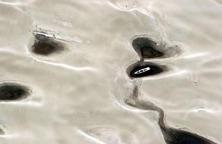 图文:亚马逊河水位下降