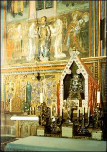图文:圣维塔大教堂内部装饰