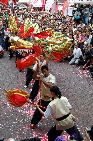 图文:巴西华人庆祝春节