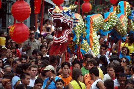 图文:圣保罗欢乐中国新年