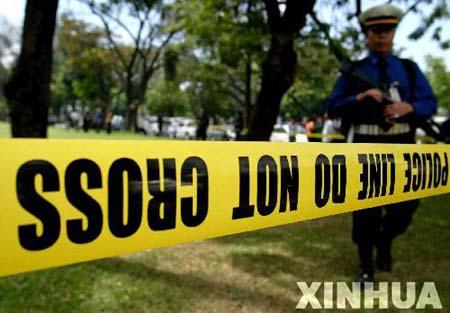 组图:菲律宾总统府花园爆炸非由炸弹引起