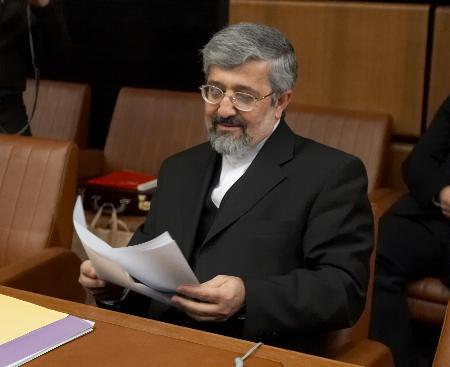 图文:伊朗代表苏丹尼耶出席理事会会议