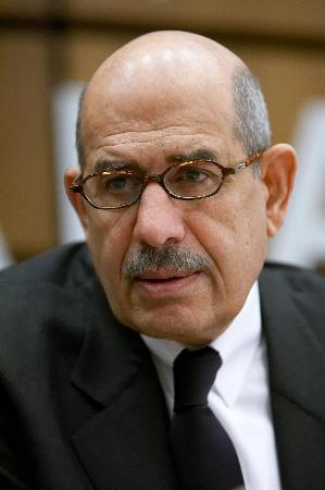 图文:IAEA总干事巴拉迪出席理事会会议