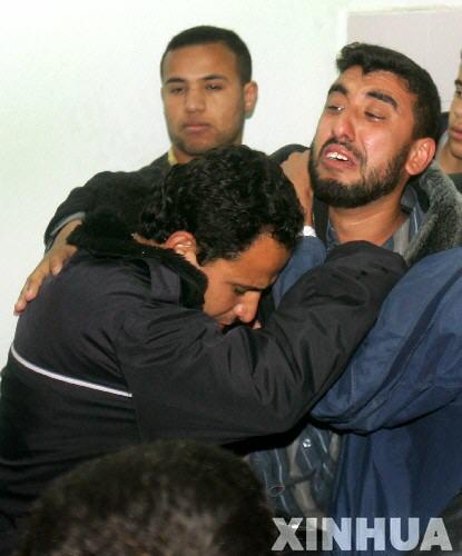 组图:加沙北部发生炸弹爆炸事件