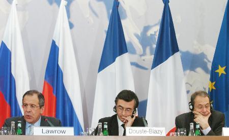 组图:五常德国及欧盟代表呼吁伊朗终止铀浓缩
