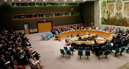 图文:安理会举行有关伊朗核问题的会议
