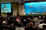 图文:巴布亚新几内亚总理索马雷在开幕式上致辞