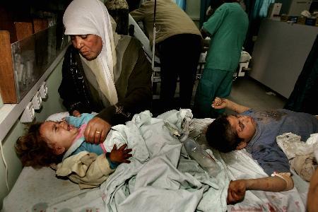 组图:以军向加沙地区发射炮弹1人死亡