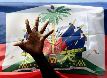 组图:普雷瓦尔宣誓出任海地第55届总统