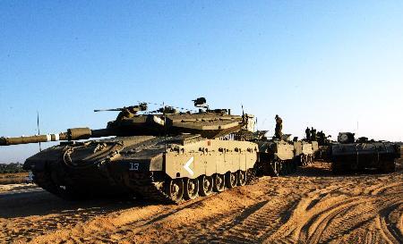 图文:以军对加沙展开军事行动