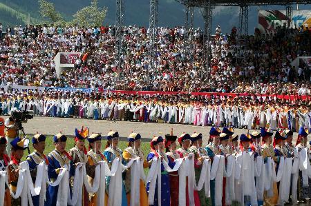 蒙古国摔跤图片微信头像.