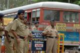 图文:孟买警方加强戒备