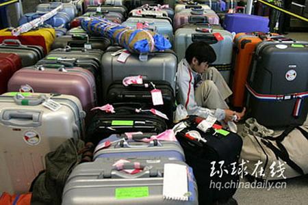 图文:机场人满为患