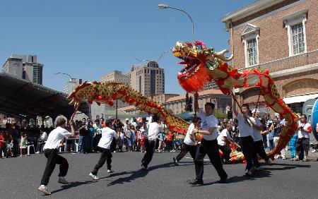 组图:南非华人举行中华文化节