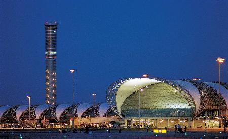 组图:曼谷新机场准备就绪等待最后调试启用