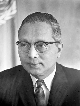 图文:联合国第三任秘书长吴丹图片档案