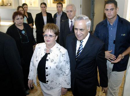 图文:以色列总检察长建议总统自动暂时停职(1)