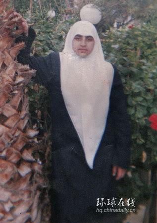 组图:巴勒斯坦女青年袭击以军