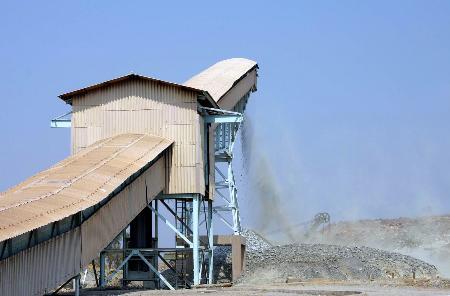 图文:赞比亚铜带省谦比希铜矿