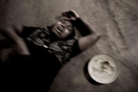 布隆迪精神病医院的病人8高清图片