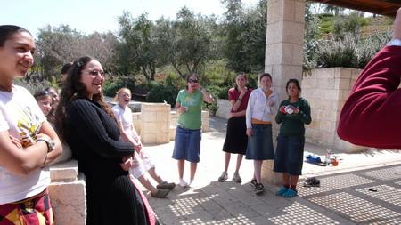 组图:活泼可爱的以色列青少年
